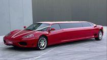 Ferrari Ini Panjangnya Tidak Lazim