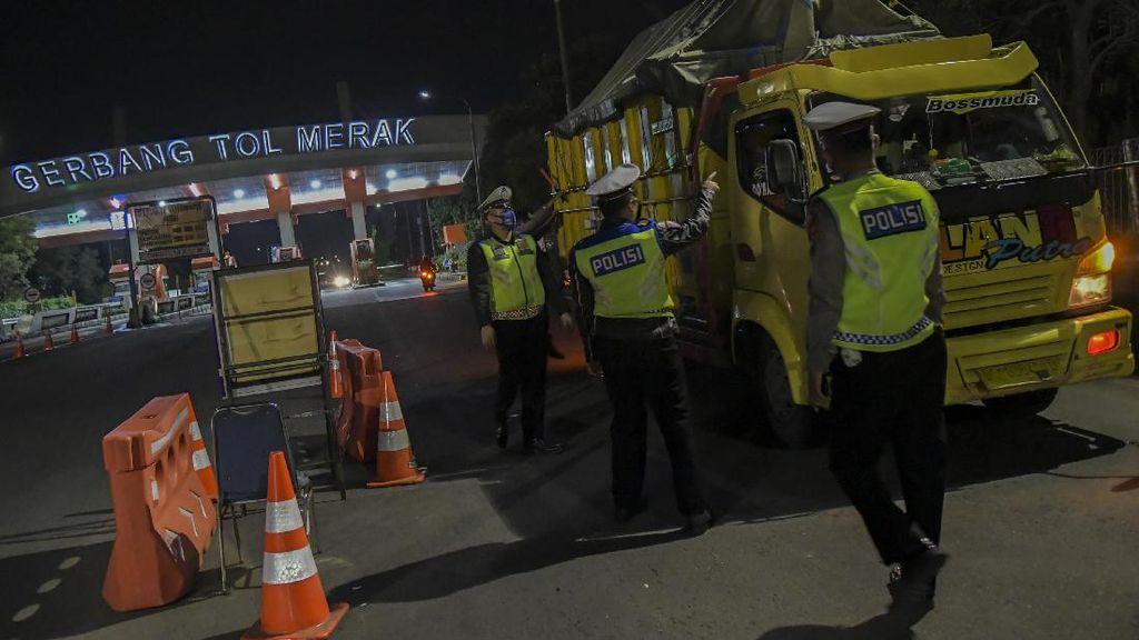 Selama 34 Hari, Polda Banten Putar Balikkan 8.771 Kendaraan