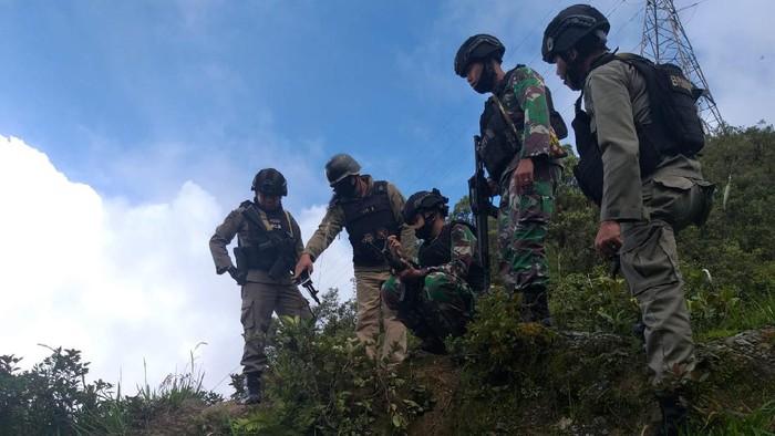 Tim Gabungan Cek Lokasi Warga Ditembak KKB di Tembagapura