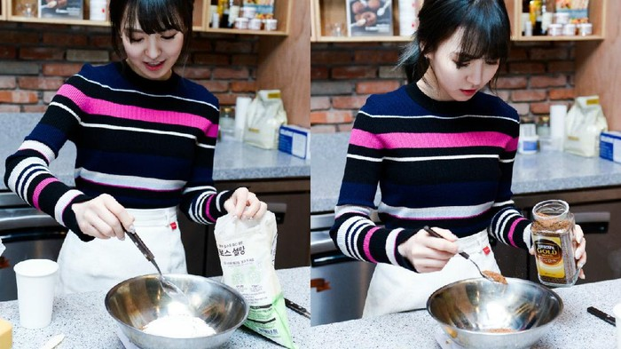 Idol Korea wanita jago masak