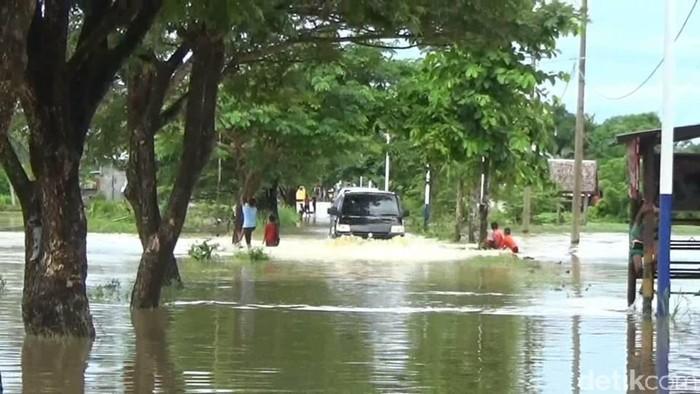 Puluhan Rumah di Polman Terendam Banjir