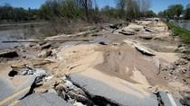 Begini Kerusakan Akibat Banjir di Michigan
