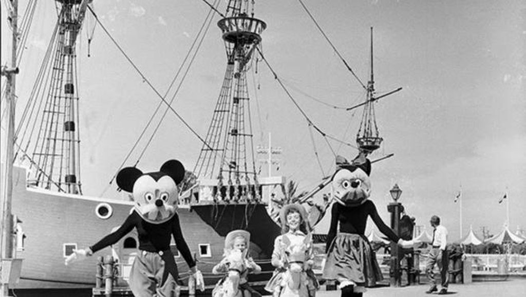Potret Jadul Mickey Mouse yang Menyeramkan