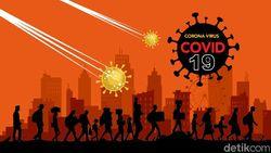 Kasus WNI Positif COVID-19 di Luar Negeri Jadi 1.532, Terbaru 20 di AS