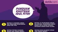 Panduan Khotib Khutbah Idul Fitri, Khususnya Untuk yang Berjamaah di Rumah