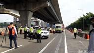 Video Ratusan Kendaraan Dipaksa Putar Balik di GT Cikarang Barat