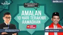 Ibadah di Akhir Ramadhan bersama UAS
