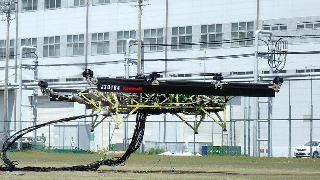 Bikin Truk Terbang, Kawasaki Gabungkan 3 Mesin Ninja ZX-10R