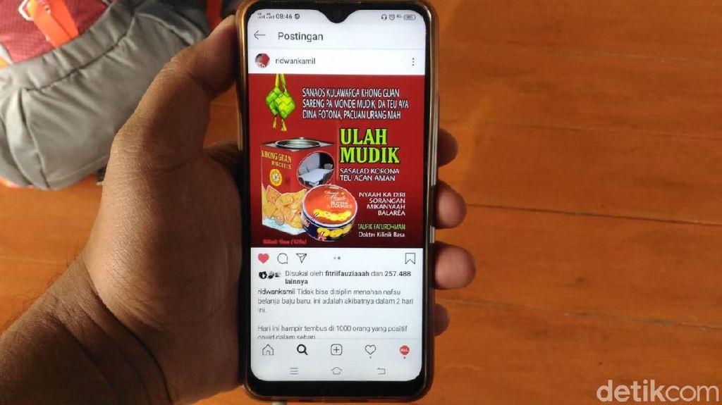 Ungkapan Kecewa Ridwan Kamil ke Warga yang Nekat Berdesakan Belanja-Mudik