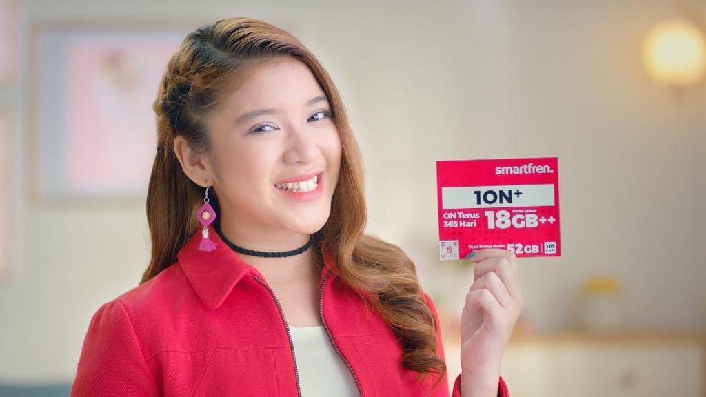Smartfren Gaet Tiara Idol Ajak Gen Z Berinternet Antiwaswas