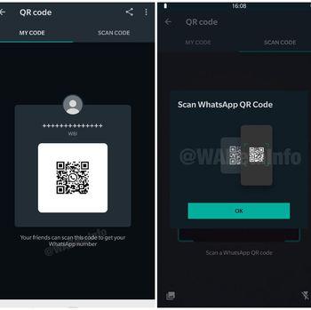 Fitur QR code di WhatsApp