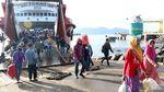 Pelabuhan Ketapang Banyuwangi juga Masih Ramai Penumpang