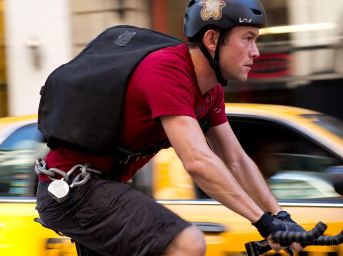 Joseph Gordon-Levitt stars in Columbia Pictures Premium Rush.