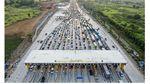 Before-After Pandemi Corona di Pintu Tol Cikampek Utama