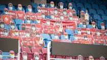 Jika Liga Inggris Mulai Lagi, Ada Ide Penonton Palsu di Stadion
