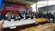 WNA Pemilik Sabu 821 Kg di Serang Diintai Polisi Sejak Tahun Lalu