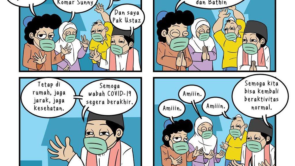 Selamat Idul Fitri 1441 H Mohon Maaf Lahir Bathin, Komar dkk Pamit