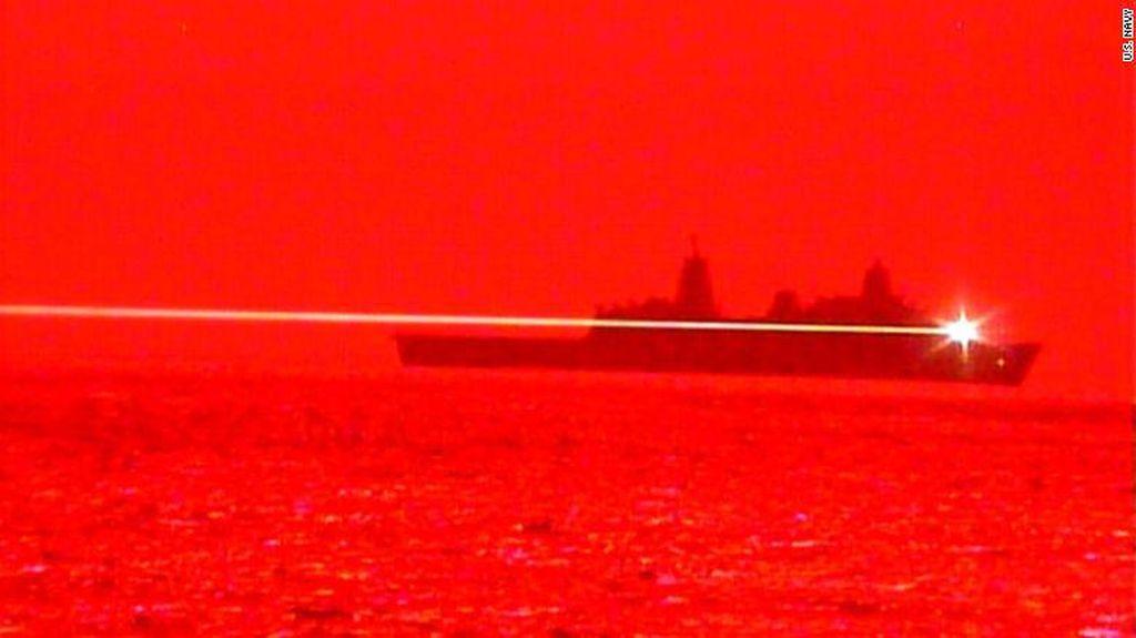 AS Sukses Uji Coba Senjata Laser yang Bisa Hancurkan Pesawat di Udara
