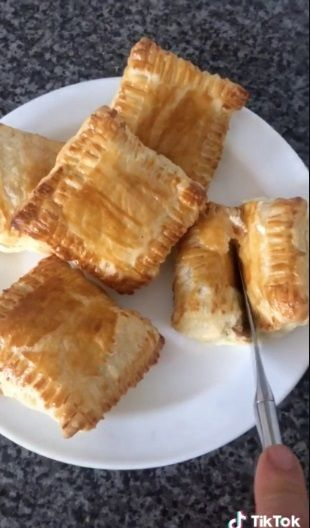 Resep puff pastry Nutella