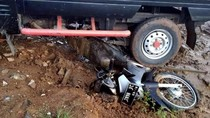 Jalan Rusak di Sukabumi Ini Rawan Kecelakaan