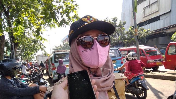 Lurah Pasar Minggu, Gita Puspitasari.