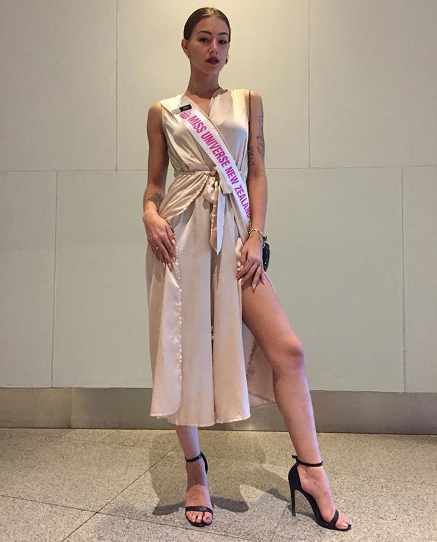 Miss Universe New Zealand 2018 Amber-Lee Friss
