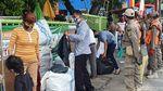 Penampakan Toko dan Lapak di Pasar Tanah Abang Ditutup Demi Cegah Kerumunan