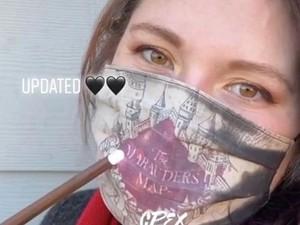 Viral Masker Unik Cegah Corona, Ada Sentuhan Sihir Harry Potter