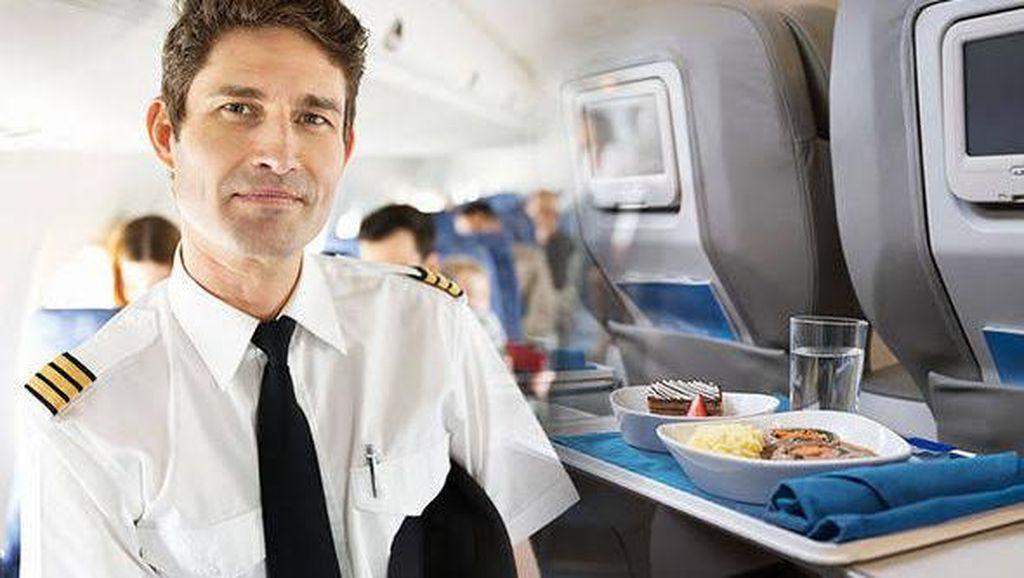 Terungkap! Saat Bertugas, Pilot dan Co-Pilot Tidak Makan Menu yang Sama