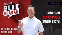 Blak-blakan Mensos Berjibaku Salurkan Bansos Jokowi