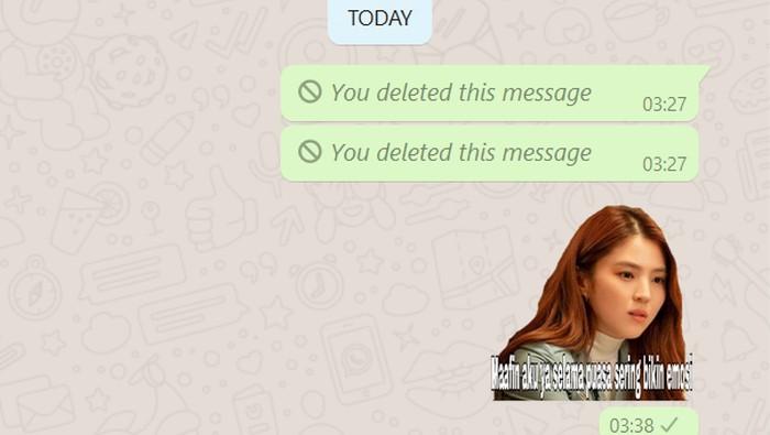 Membuat stiker WhatsApp untuk ucapan selamat Idul Fitri? Kenapa nggak, biar detikINET bantu caranya supaya kamu bisa membuatnya sendiri.