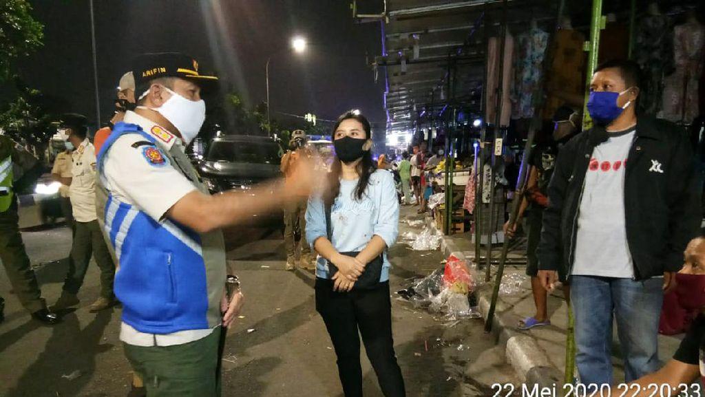 Gelar Lapak Saat PSBB, Hampir 1.000 Pedagang Pasar Malam di DKI Ditertibkan