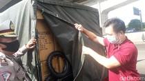 Polisi Periksa Pikap di GT Cikarang Barat, Tak Ditemukan Penumpang Gelap