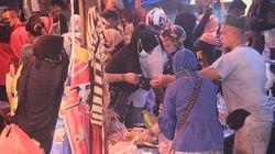 Video Pasar Lakessi Parepare Diserbu Warga Sehari Jelang Lebaran