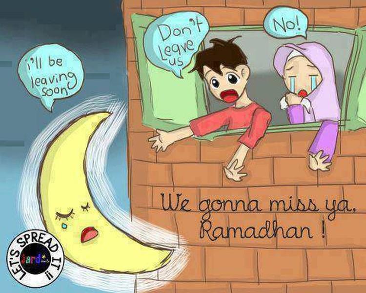 Ramadhan segera berlalu dan Idul Fitri pun hadir menandai awal bulan Syawal. Ilustrasi penuh haru dan kocak ini siap nemanin kamu menyambut Lebaran.