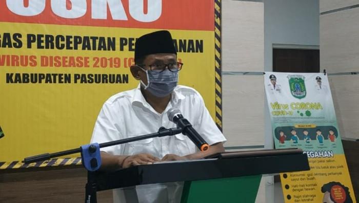 Wakil Sekretaris Gugus Tugas Percepatan Penanganan COVID-19 Kabupaten Pasuruan, Anang Saiful Wijaya