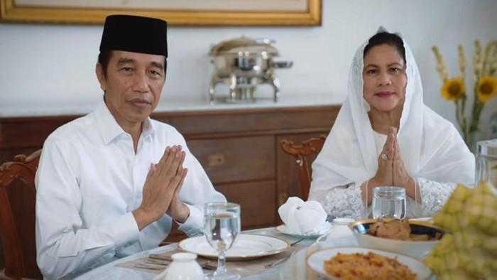Presiden Jokowi dan Ibu Negara Iriana mengucapkan selamat Idul Fitri 1441 H.
