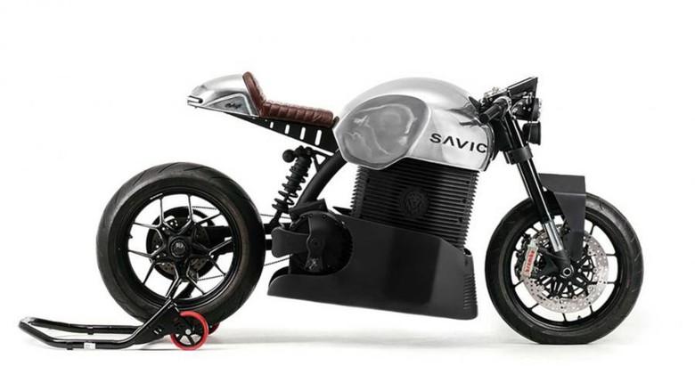 Motor listrik pertama Australia disapa Savic C Series.