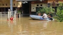 Sedihnya Warga Samarinda Kebanjiran Saat Lebaran