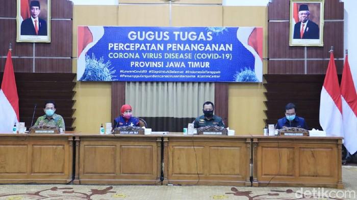 Ada tambahan 476 kasus positif Corona di Jatim, di hari ke-12 PSBB Surabaya Raya jilid 2. Sehingga totalnya kini menjadi 3.568 kasus.