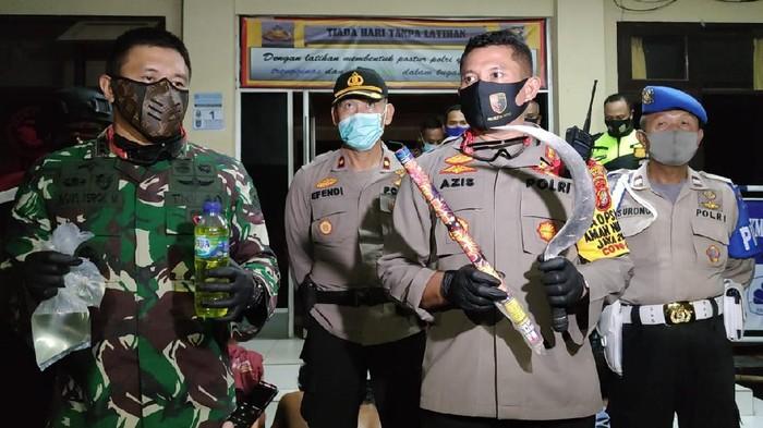 Kapolres Metro Depok Kombes Azis Andriansyah Amankan 12 ABG Saat Malam Takbiran