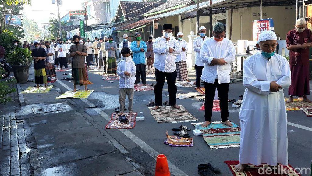 Begini Suasana Salat Idul Fitri di Masjid Jogokariyan