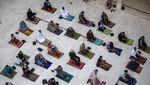 Potret Perayaan Idul Fitri di Batas Israel-Palestina