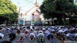 Perayaan Idul Fitri Umat Muslim Dunia saat Pandemi Corona