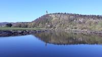 Stirling terletak di jantung Skotlandia, tepatnya 42 km di timur laut Glasgow dan 60 km di barat laut Edinburgh (Ridha Khairina/istimewa)