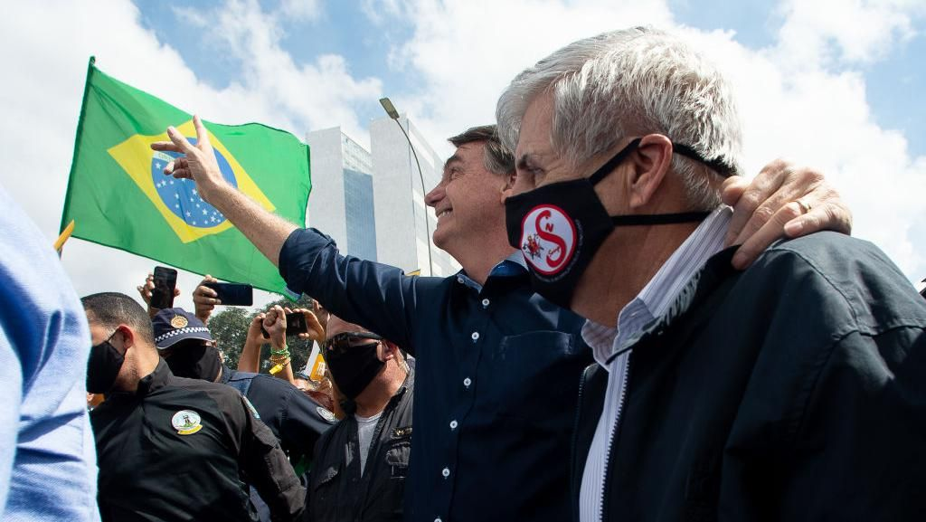 Kontroversi Bolsonaro Tolak Masker: Lawan Pengadilan-Hapus Pasal di UU