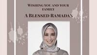 Cantiknya Sophia Latjuba Pakai Hijab Saat Ucapkan Selamat Idul Fitri