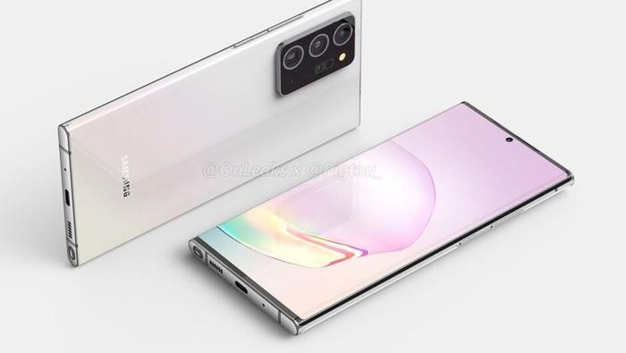 Render Galaxy Note 20+