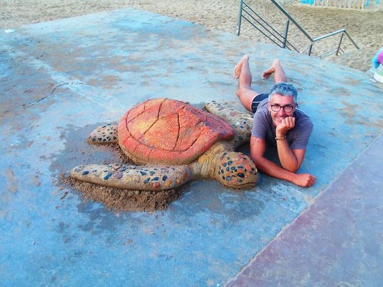 Andoni Bastarrika pasir hewan