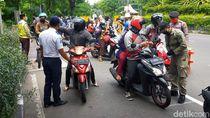 Hari Terakhir PSBB Jilid 2, Pelat Non L Dilarang Masuk Surabaya, Kecuali ...